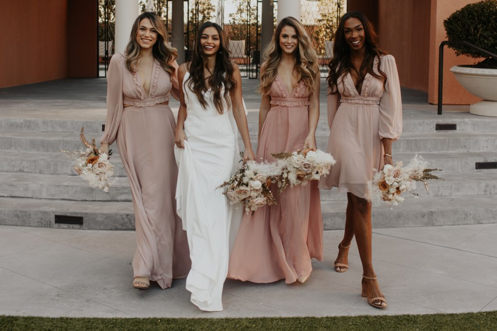 Lovely Bridesmaids by The Dessy Group