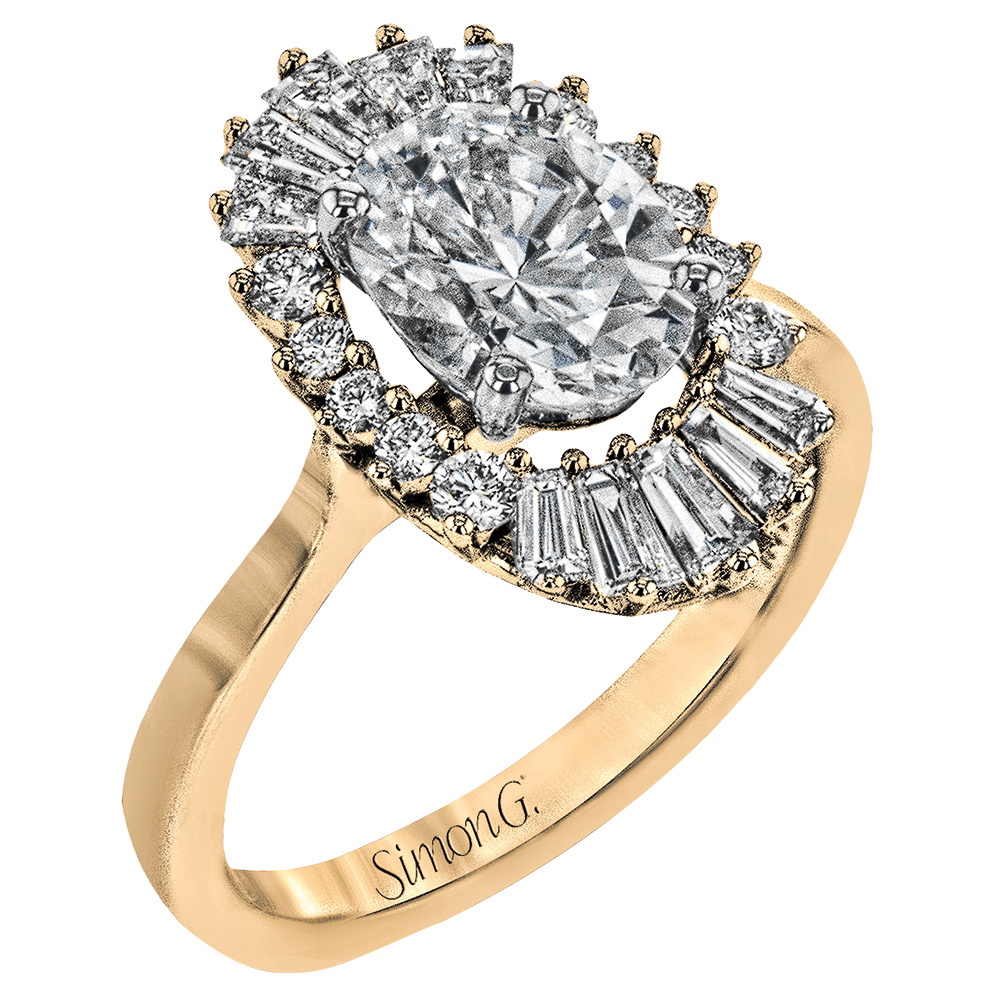 simon g jewelry gold engagement ring