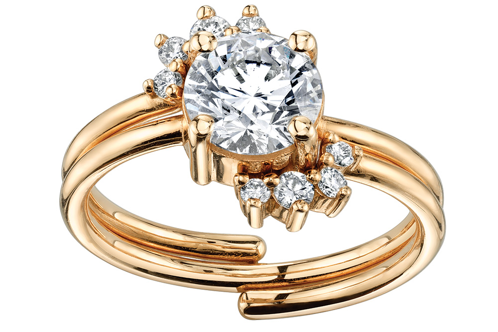 marrow fine jewelry gold engagement ring