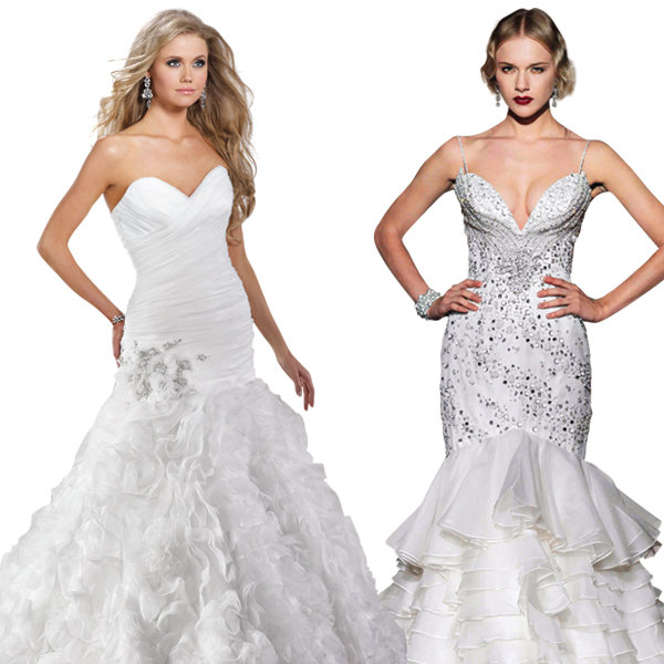 Wedding Dress Styles For Different Body Shapes 18