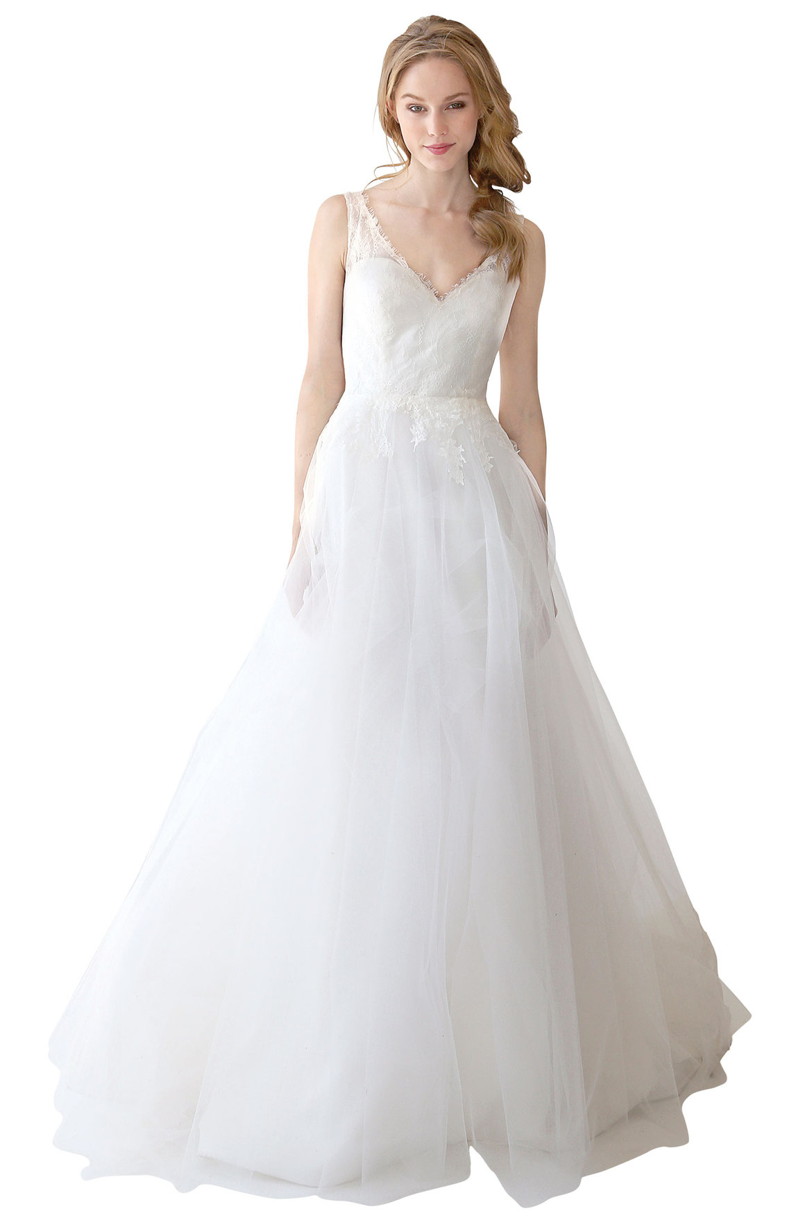 kelly faetanini wedding gown