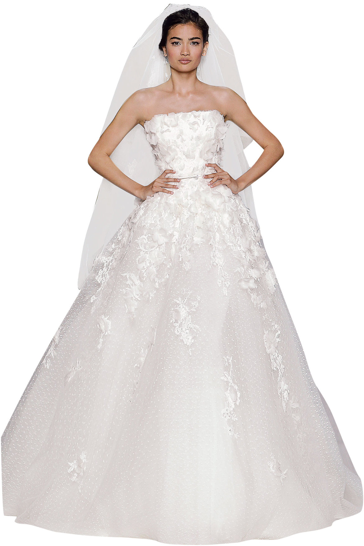 Best wedding dress for your body type page 6 bridalguide for Wedding dresses by body shape