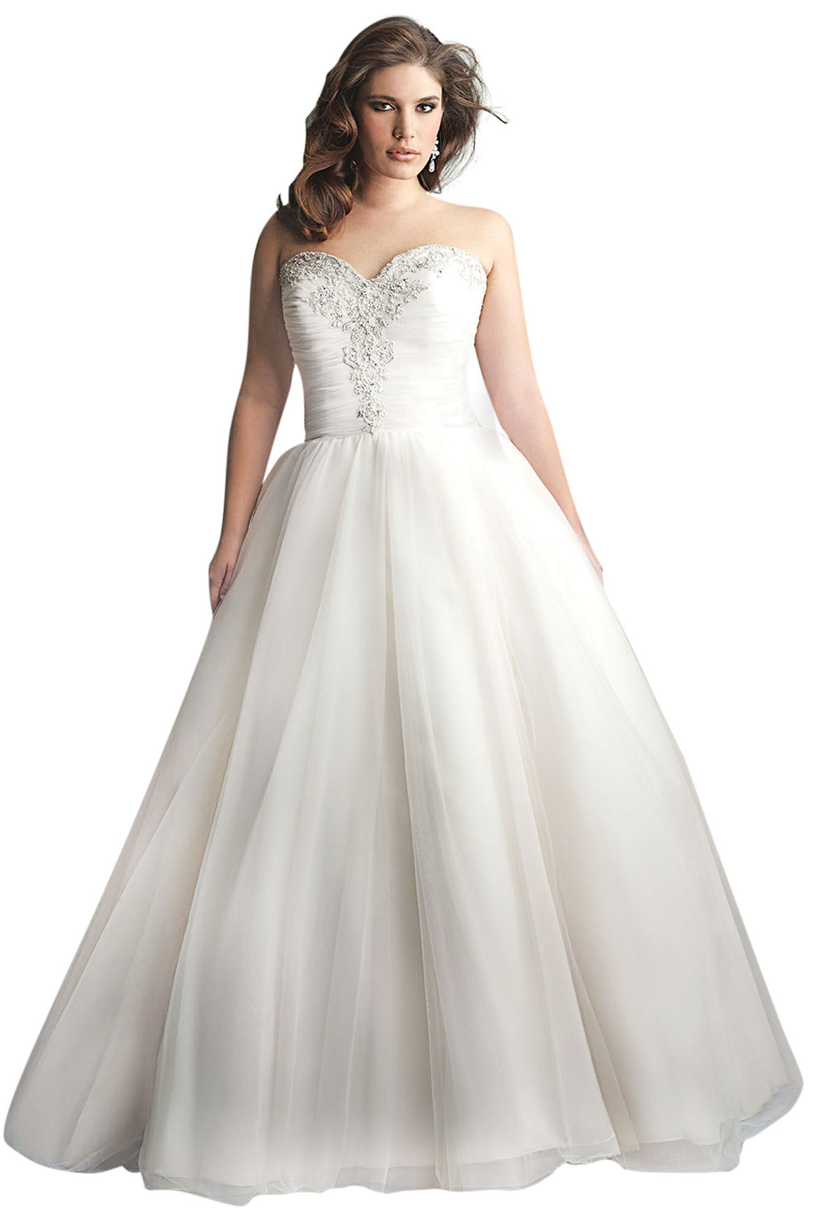 Best wedding dress for your body type page 5 bridalguide for Best website for wedding dresses