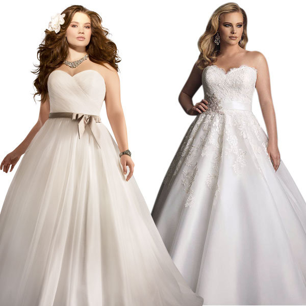 Best Wedding Dress For Plus Size Body Type