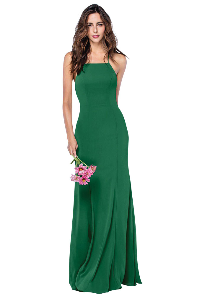 Green Bridesmaid Dress by Watters