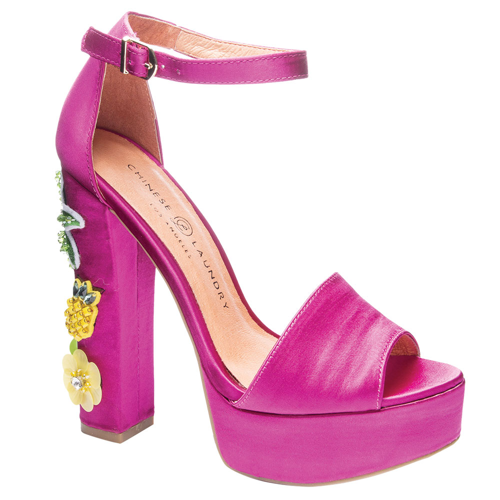 Hot Pink Heels by Chinese Laundry