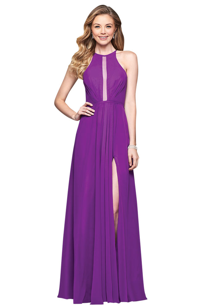 Purple Bridesmaid Dress by Faviana