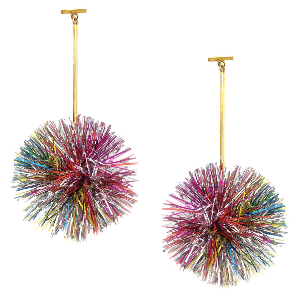 Tinsel Earrings by Tuleste