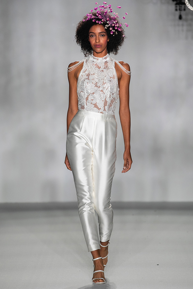 Anne Barge wedding gown