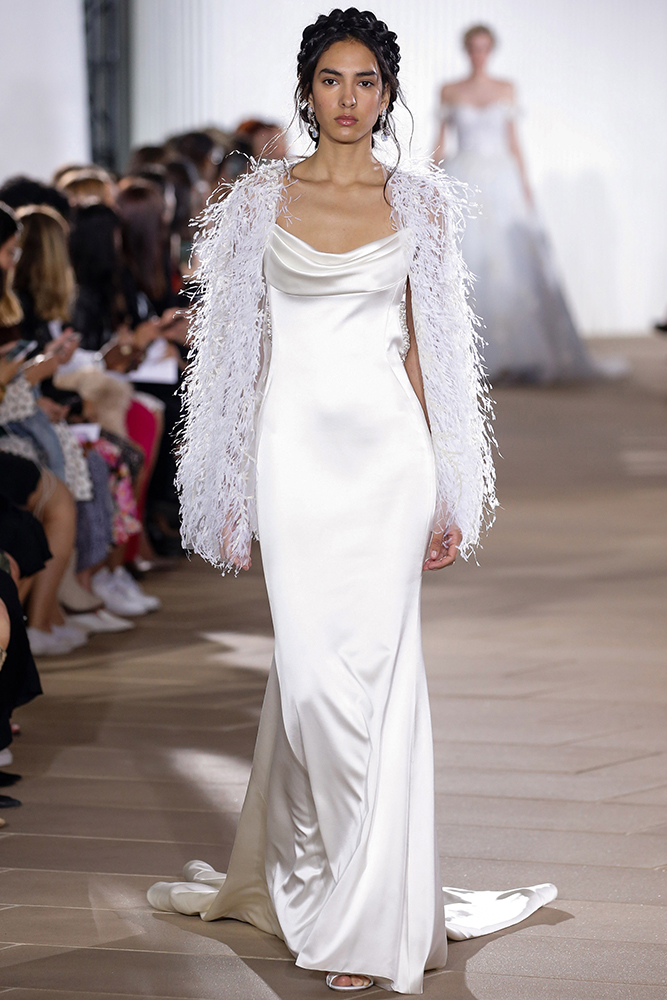 Ines di Santo wedding gown