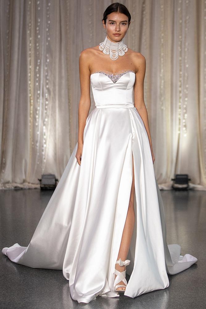 Lee Petra Grebenau wedding gown