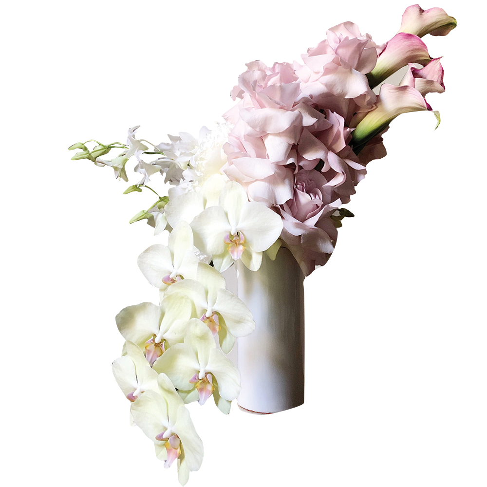 Orchid bouquet by Brandi Bombard of Forma