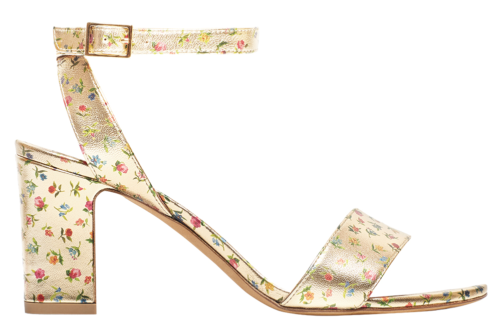 Floral block heel by Tabitha Simmons