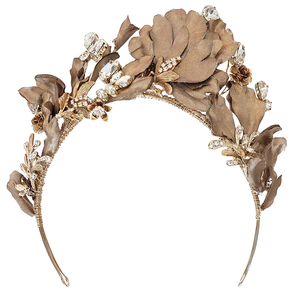 Twigs and Honey headpiece