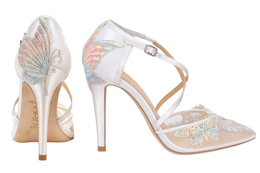 Butterfly pumps by Claire Pettibone for Bella Belle