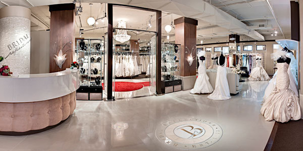 10 mistakes brides make when dress shopping bridalguide for Wedding dress boutiques in nyc