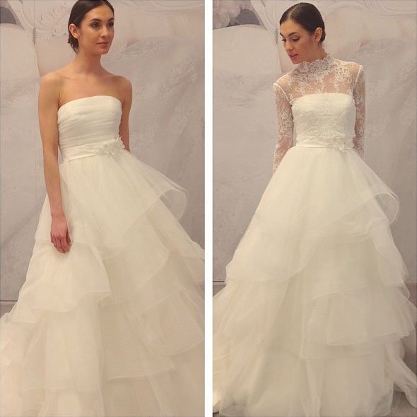 Wedding Gowns New York Stores : Hottest new gowns from the runways bridalguide