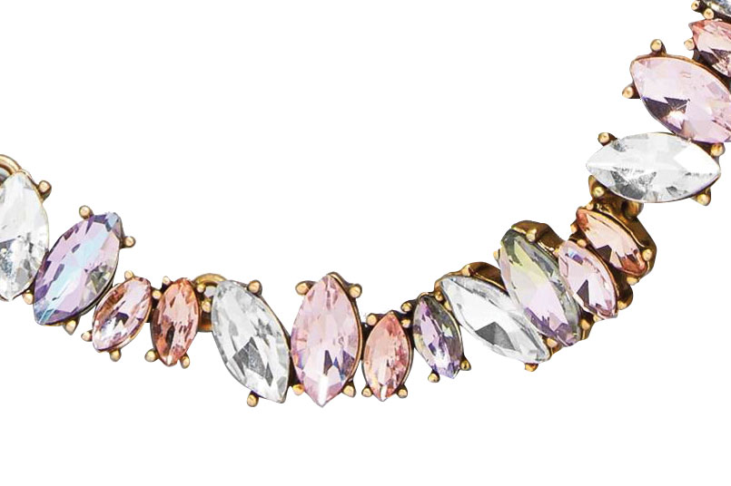 Crystal necklace by Baublebar