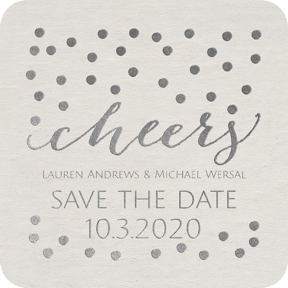 pearl save the date card invitations by dawn