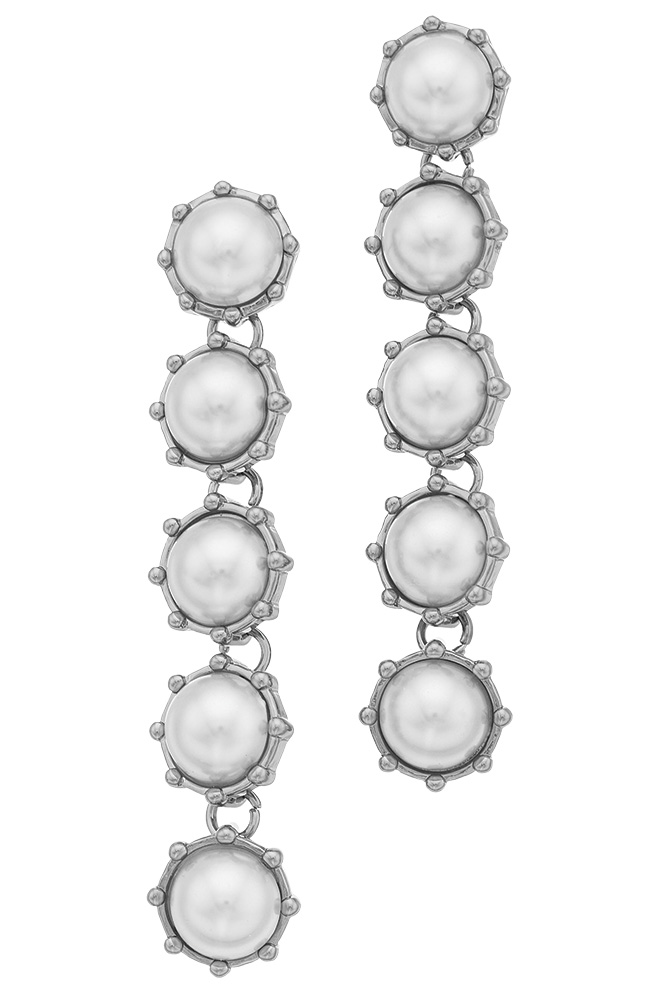 pearl drop earrings simply vera by vera wang