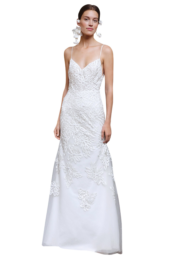 lela rose pearl wedding gown