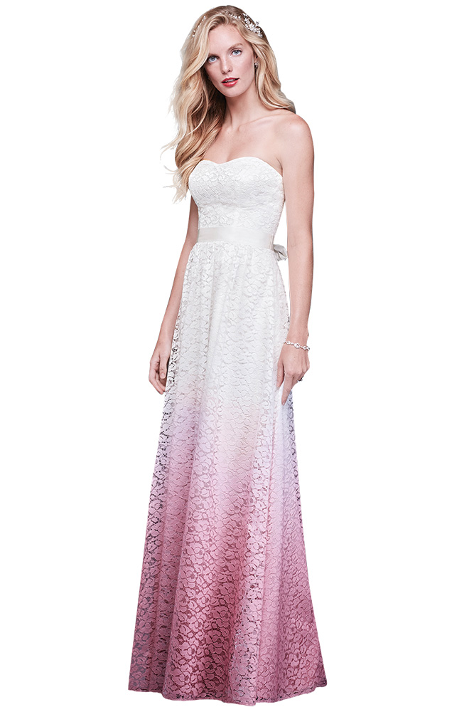 Wedding gown by Galina Exclusively at Davids Bridal