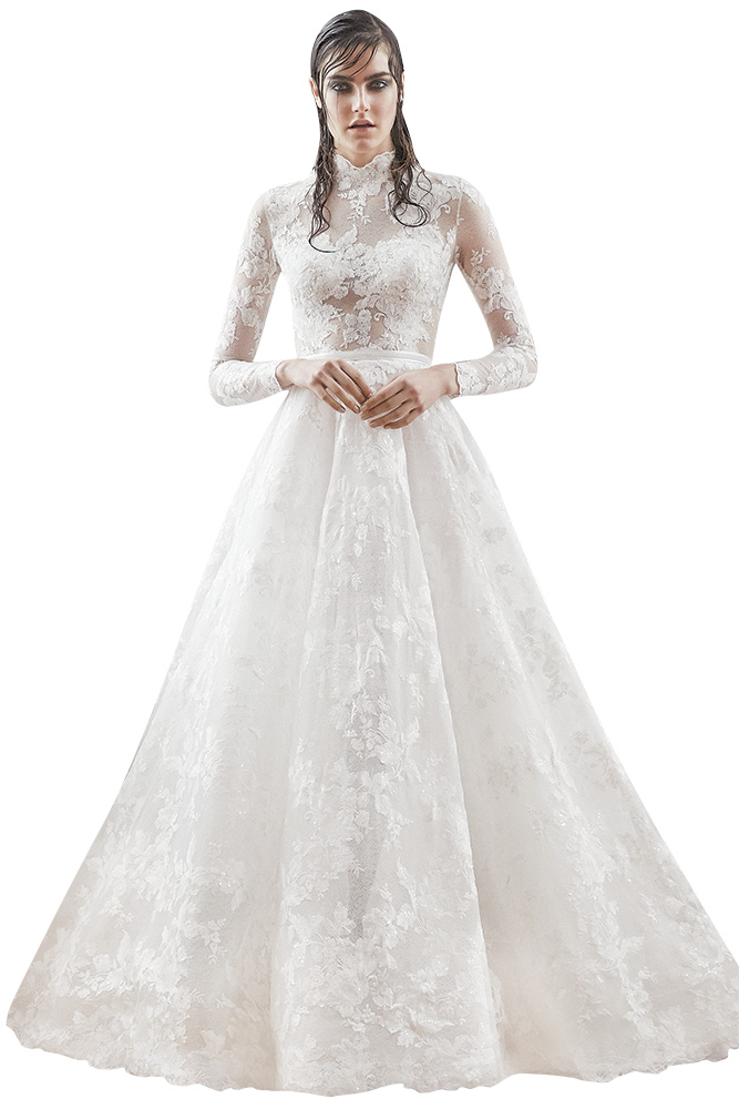 isabelle armstrong wedding gown