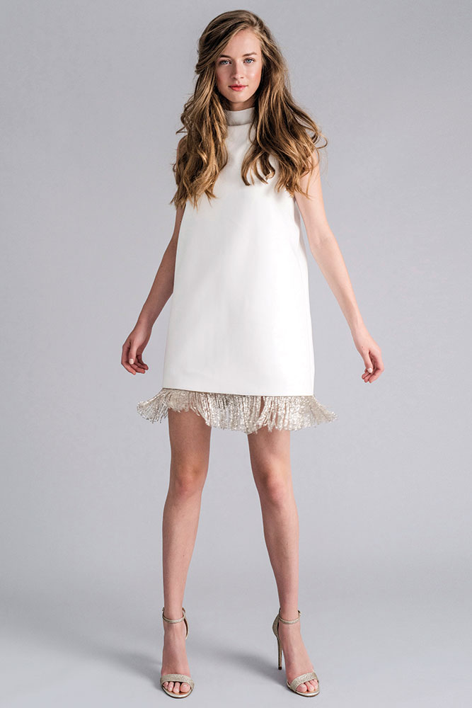 Short wedding dress by Sophie Et Voila