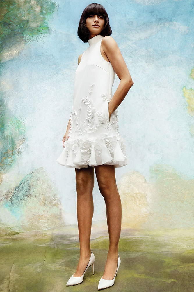 Short wedding dress by Viktor and Rolf
