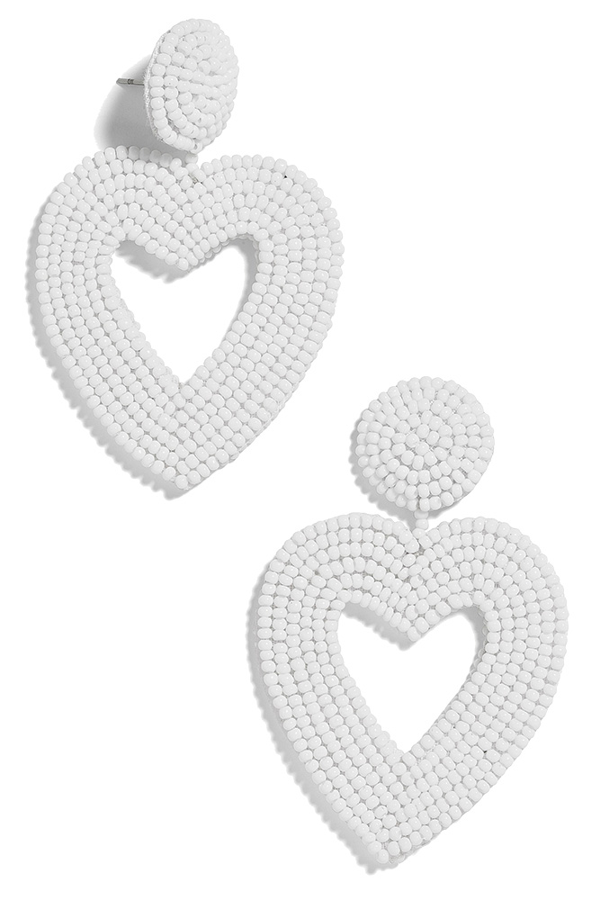 BaubleBar heart earrings