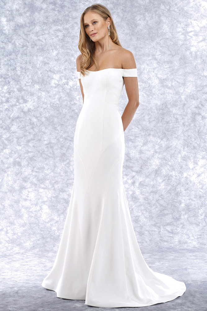 Robert Bullock Bride wedding gown