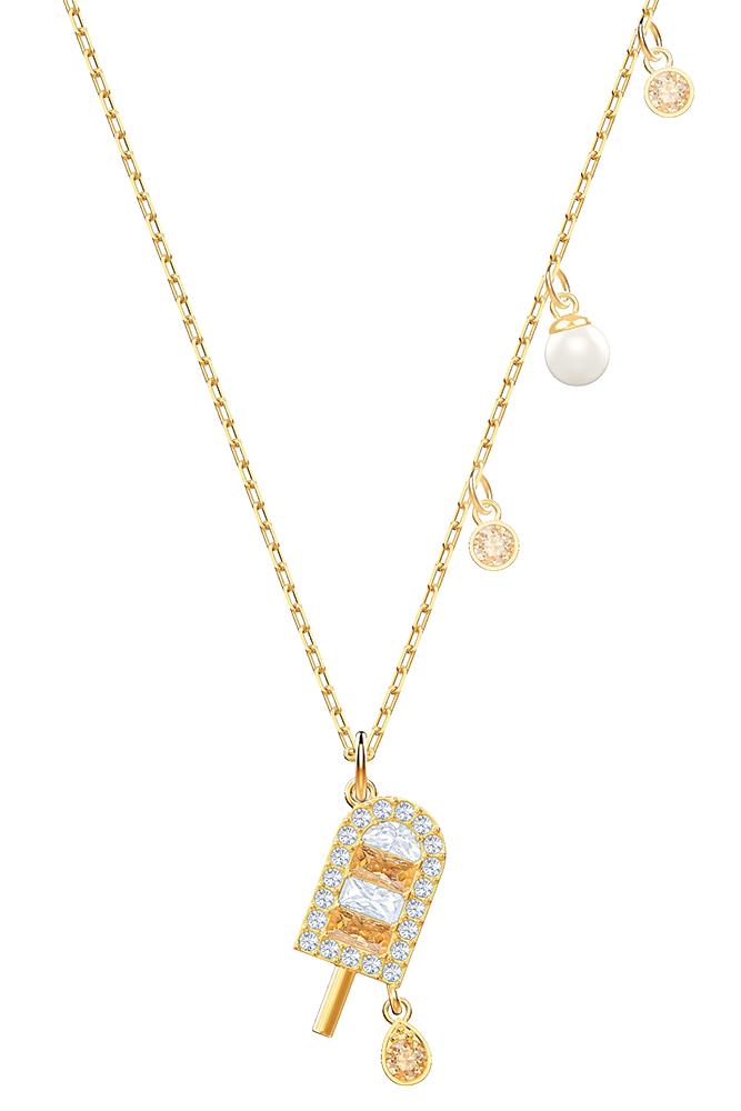 Ice cream pendant necklace by Swarovski