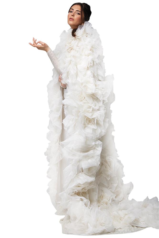 Randy Rahm wedding gown