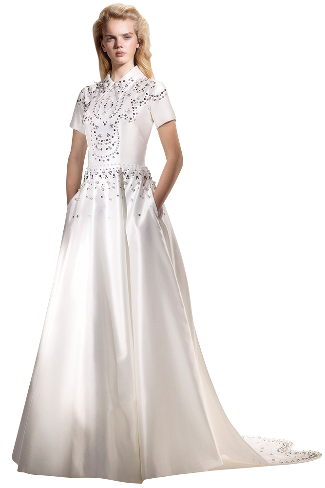 Viktor and Rolf tshirt wedding gown
