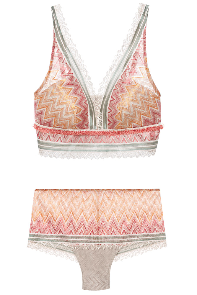 Chevron lingerie by Intimissimi