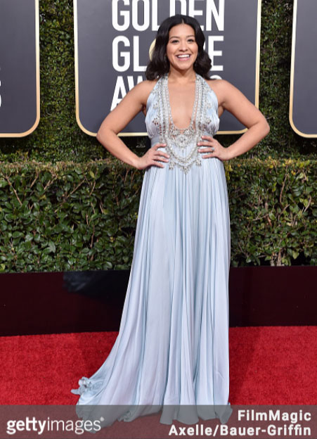 Gina Rodriguez 76th Annual Golden Globes