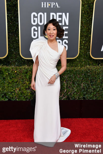 Sandra Oh at the 76th Annual Golden Globes