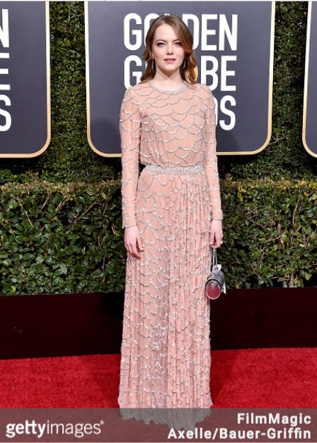 Emma Stone 76th Annual Golden Globes