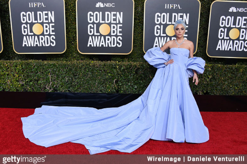 Lady Gaga at the 76th Annual Golden Globes