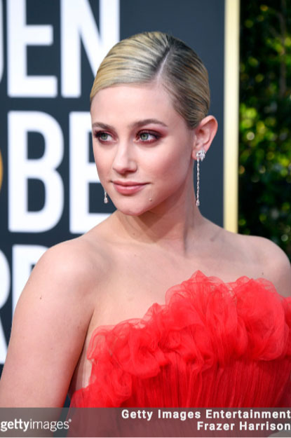 Lili Reinhart 76th Annual Golden Globes