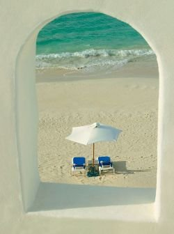 a window into heaven at cusinart resort & spa