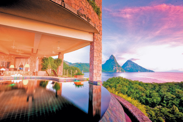 Caribbean resorts with the best pools bridalguide for Best caribbean honeymoon resorts