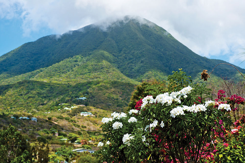 Mountains in Nevis