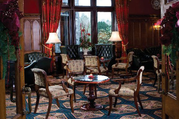 ashford castle dining room