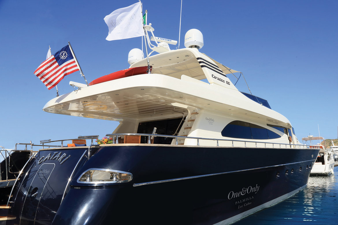 one and only palmilla yacht
