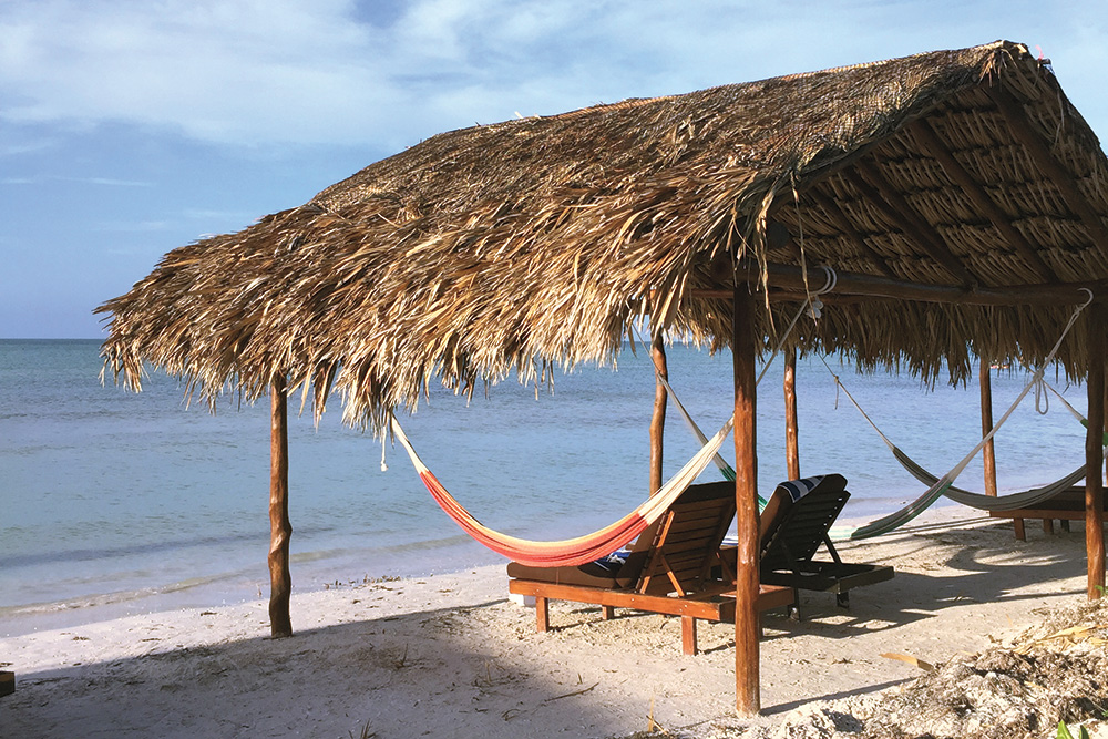 Isla Holbox Mexico beach
