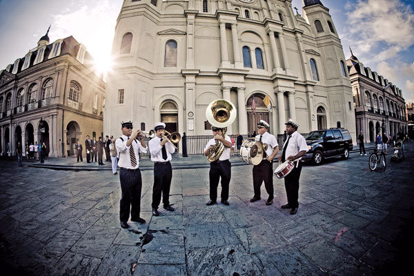 band playing in new orleans