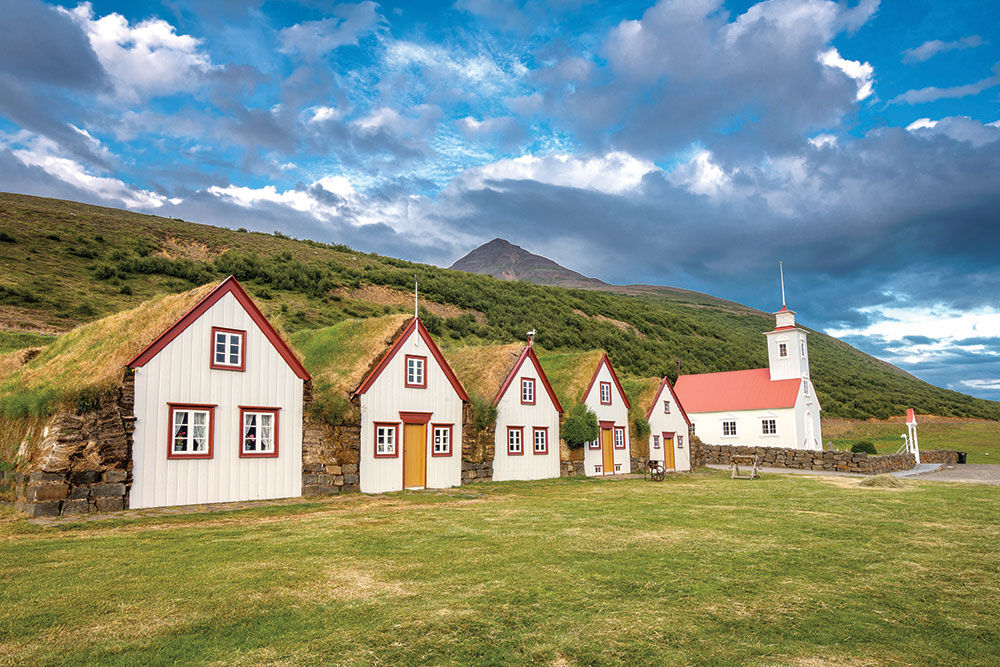classic storybook setting iceland
