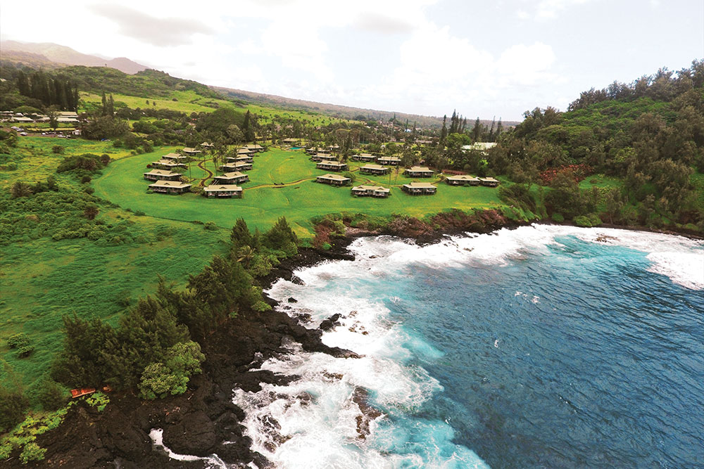 Travaasa Hana Maui Hawaii