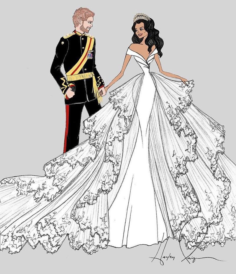 This Is What Meghan Markle S Wedding Dress Will Look Like